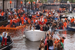 NETHERLANDS WILL CELEBRATE THE KING'S DAY ON APRIL 26th