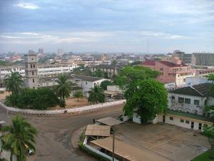 view of Lomé, the capital