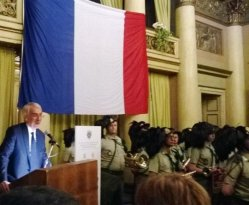 French national day in Milan