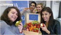 Take part in CEJA's #veggieselfie campaign to support EU farmers hit by the Russian ban