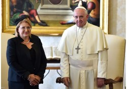 The president of Malta in Brussels