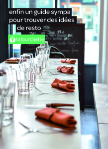 lafourchette.be: easy booking a restaurant inBrussels.
