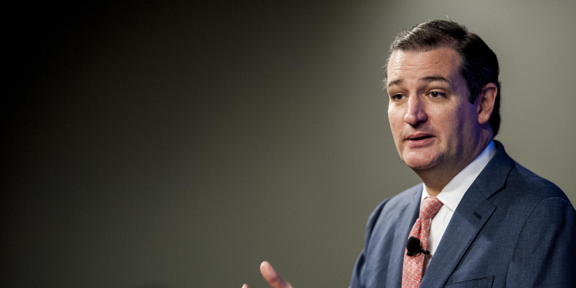 Republican Senator Ted Cruz Speaks At The HeritageFoundation