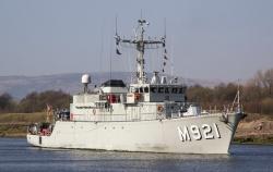 Belgium takes part to multinational open spirit operation in the Baltic Sea. #begov #balticsea#openspirit