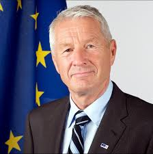 Coe Secretary General Jagland in The Hague on 16 April#norway #eu #coe #europe