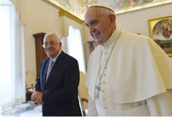 Pope meets palestinian president #pope #vatican #palestina#israel