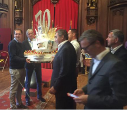 Eddy Merckx, the greatest cyclist and belgian legend celebrated. #brussels#cycle