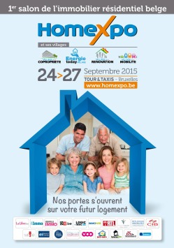 1st Belgian residential property exhibition #property #Brussels #Homexpo
