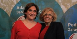 Madrid and Barcelona are taken over by radical left #Spain#politics