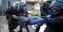 Immigrants are blocked by France in Ventimiglia #France #Italy#EU