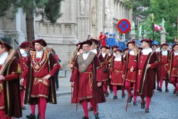 A Brussels tradition: The Ommegang. #brussels #history#folklore
