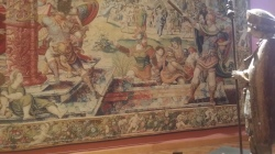 Brussels, the court and the art of the tapestry in 1518. #art #brussels#middleages