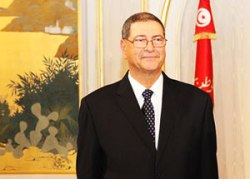 Habib Essid in Brussels. #tunisia #brussels #eu