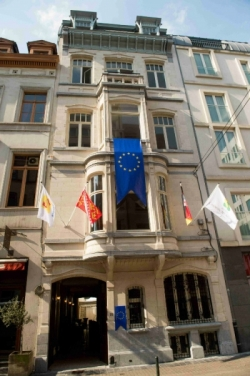 The Alsace region has a new office in Brussels. #brussels #alsace #france #eu