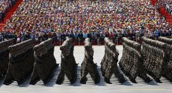 Massive military parade in Beijing #china #military #parade #beijing