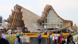 EXPO 2015: The Chinese pavilion  #expo #2015 #china #giftofnature