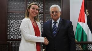 Federica-Mogherini-to-meet-Mahmoud-Abbas-300x168