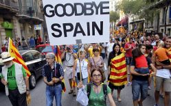 """Catalonia starts """"disconnecting"""" from Spain #spain#independence"""