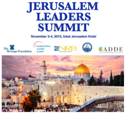 Jerusalem Leaders Summit to protect the rule of law #middleeast #israel #eu #freedom#security