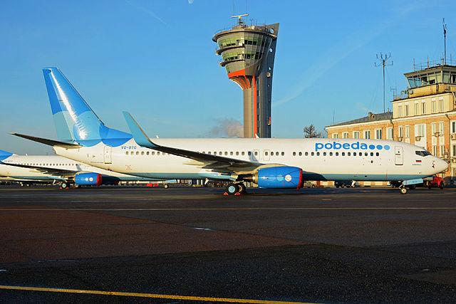 Pobeda_Boeing_737-800_at_SVO