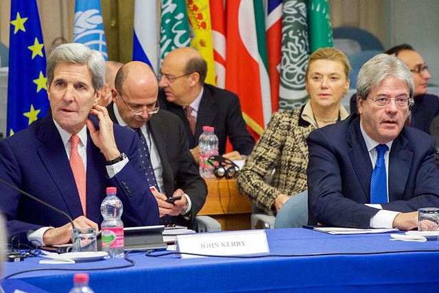 Secretary_Kerry_Sits_With_Italian_Foreign_Minister_Gentiloni_and_UN_Special_Representative_for_Libya_Kobler_at_the_Italian_Foreign_Ministry_in_Rome_(23090680244)