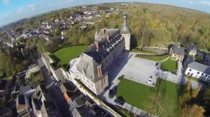 The Castle of Chimay, one of the jewels of this prince's city