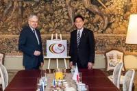 150 years of diplomatic relations between Belgium and Japan #Belgium#Japan