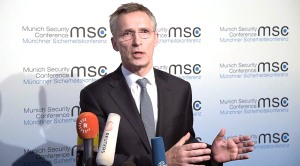 Doorstep statement by NATO Secretary General Jens Stoltenberg at the the start of the Munich Security Conference