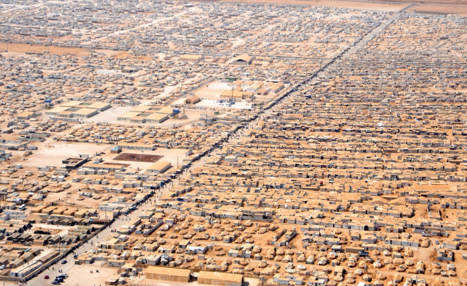 An_Aerial_View_of_the_Za'atri_Refugee_Camp