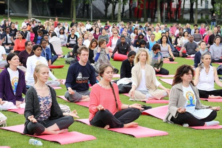Second International yoga day in paris3