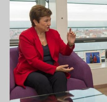 Vice-President Kristalina Georgieva resign from the European Commission