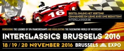 INTERCLASSICS 2016