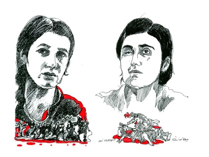 Nadia Murad and Lamiya Aji Bashar 2016 Sakharov Prize laureates for Freedom of Thought