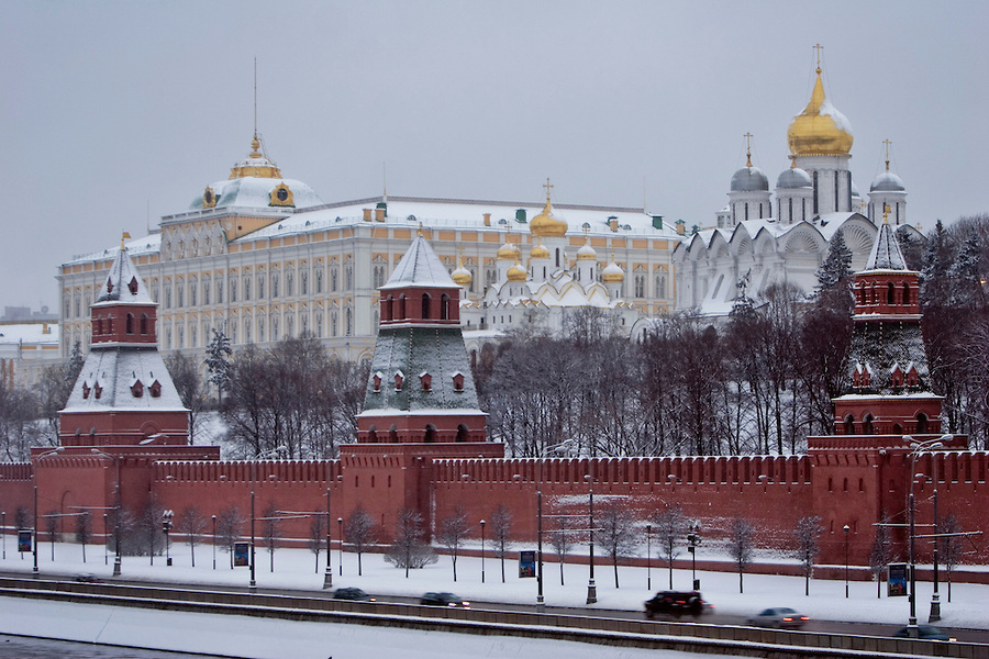 Red Square Snow