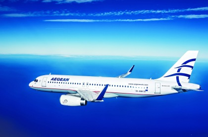 Aegean probably the best airlines inEurope