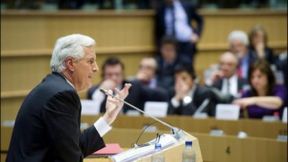 Barnier argues withGuardian