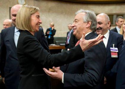 Mogherini looking forward to 'unitedCyprus'