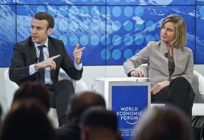 Mogherini: Syria initiative inDavos
