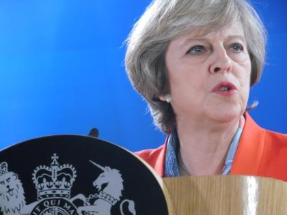 PM May: UK goesglobal
