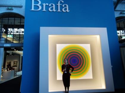 BRAFA: hommage to Julio LeParc