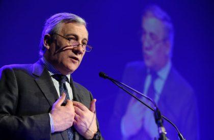 MEP Tajani for European Parliamentpresident