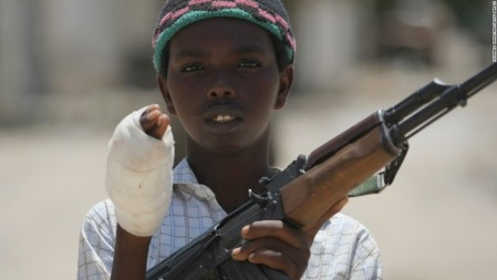 EU against child-soldier practise