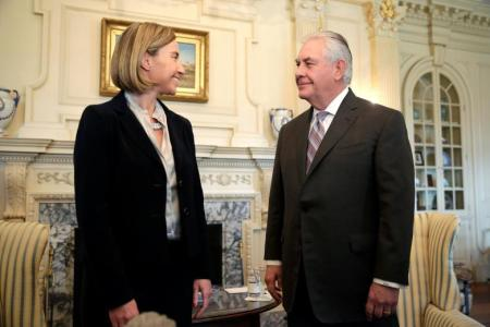 Mogherini in US: 'mission impossible'
