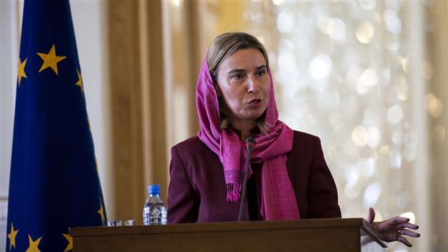 Mogherini határozottan elítélte Jeruzsálem elismerését fővárosként, majd elítélte a zsidók elleni támadásokat is