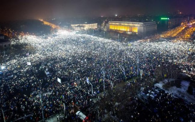romania-protests