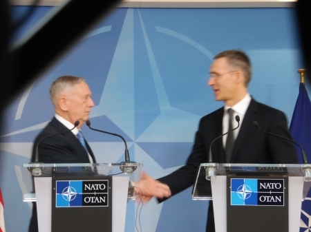 Gen.Mattis: NATO stays a bedrock of security