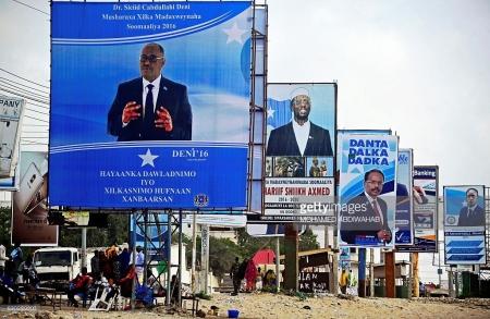Presidential elections inMogadishu