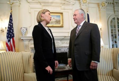 EU-US: Tillerson received Mogherini
