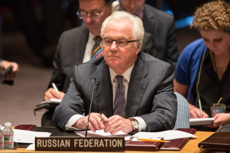 Russian envoy to UN Vitaly Churkin died