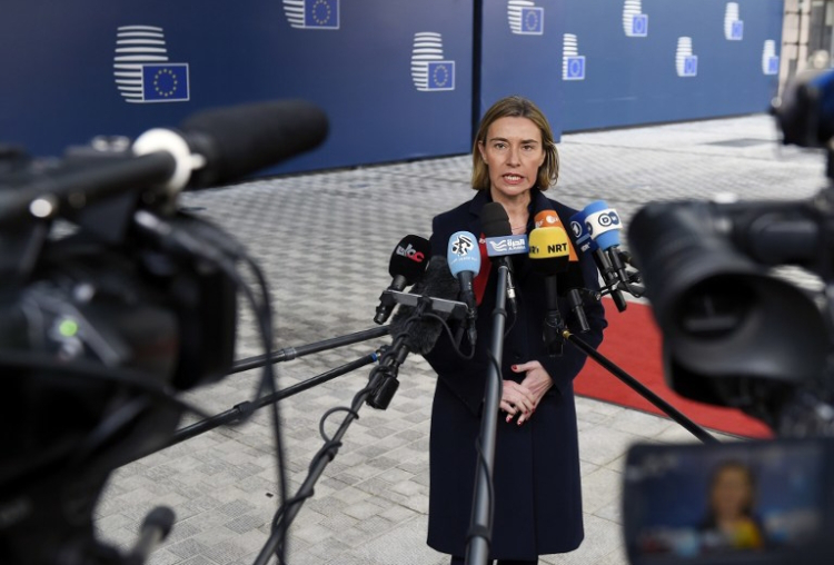 BELGIUM-EU-FOREIGN-AFFAIRS-MIGRANTS